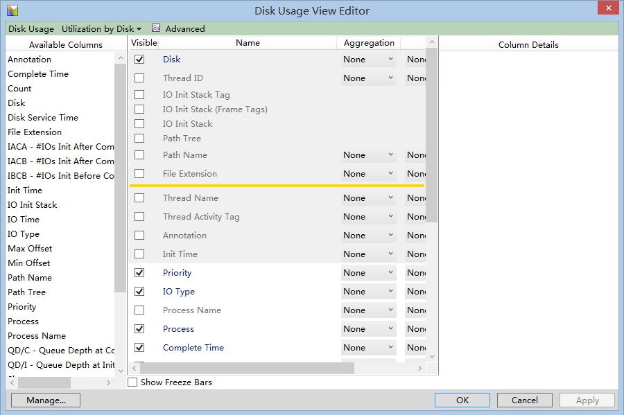 wpa-disk-io-view-editor