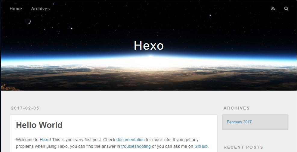 hexo-first-blog